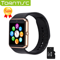 Torntisc Hot sale GT08 Bluetooth Smart Watch android smartwatch sim card fitness for ios android phone