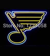 Для сент-луис блюз неоновый знак свет пивной бар PUB 17 * 14 » знак неонового света Beerbar знак бесплатная доставка