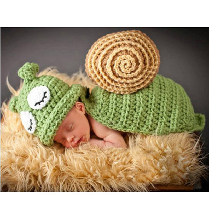 Aliexpress.com : Buy New Design Baby Infant Handmade Crochet Snail ...