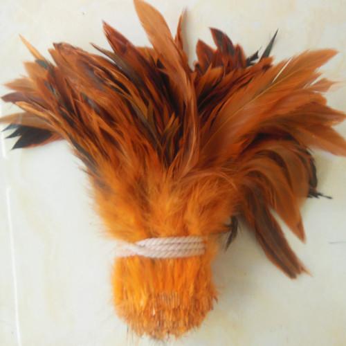 Оптовая продажа природный 50 шт./лот красивый петух 12.5 - 20 см / 5 - 8 дюйм(ов) оранжевый