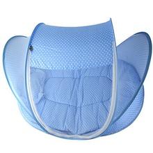 2015 новый синий детские навес москитная сетка хлопок — хлопка-проложенный матрас подушка палатка детские постельного белья складной портативный