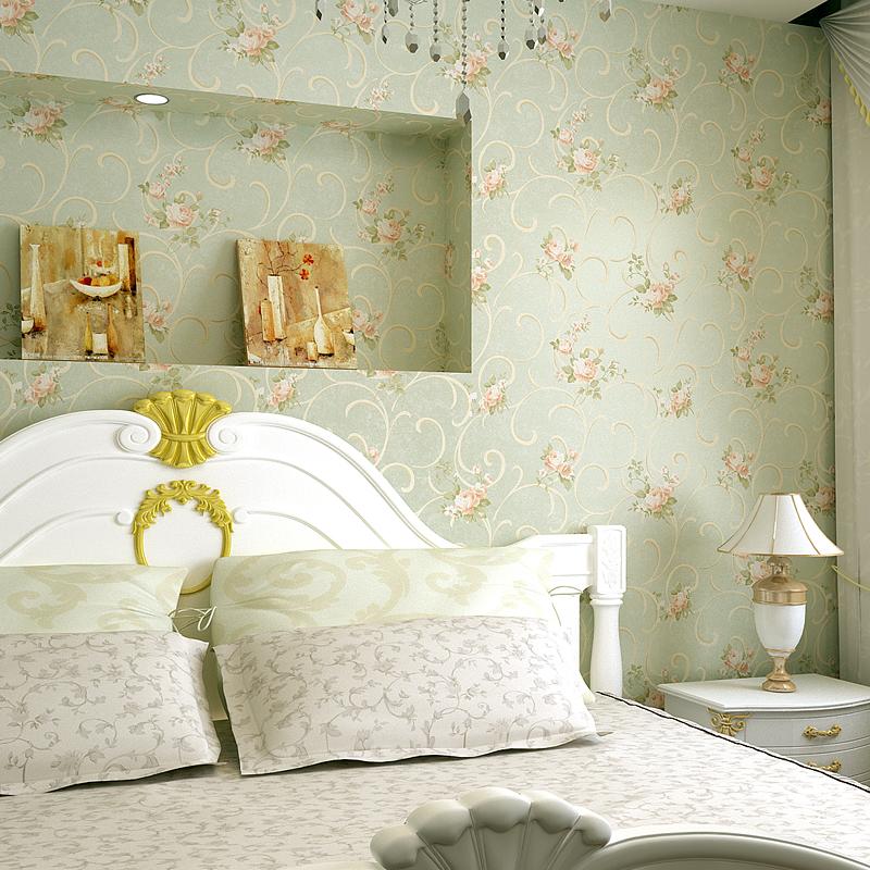 R tro papier peint promotion achetez des r tro papier for Papier peint chambre romantique