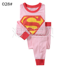 2015 New Spring Autumn Baby Boys Girls Cartoon Kids Pijamas Long Sleeve Cotton Pyjamas Kids Unisex Sleepwear Pajamas PJS Sets