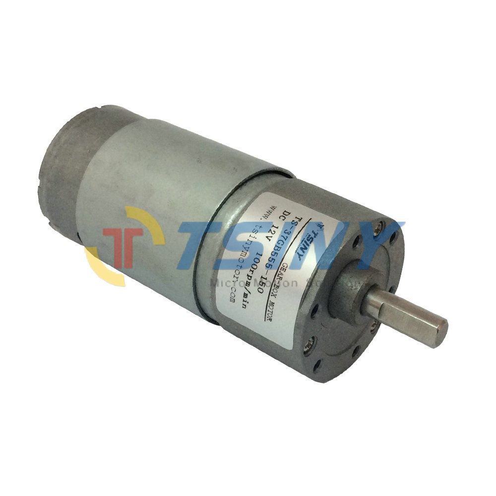 12VDC/100rpm/15kg.cm dc spur geared motor toy gear motor. Free shipping(China (Mainland))