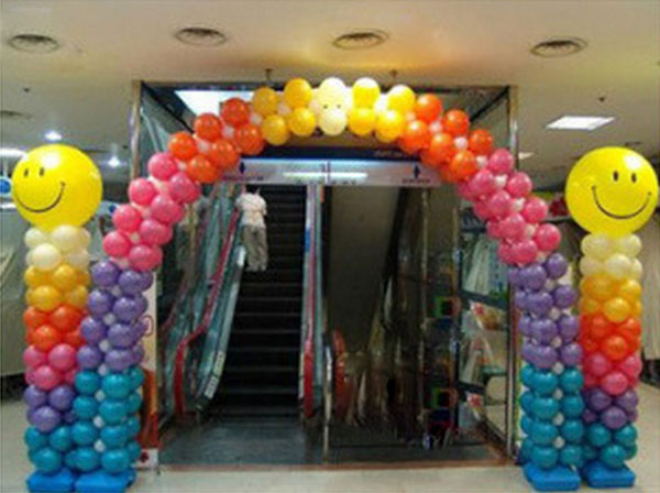 DH Balloon Column Decoration 7