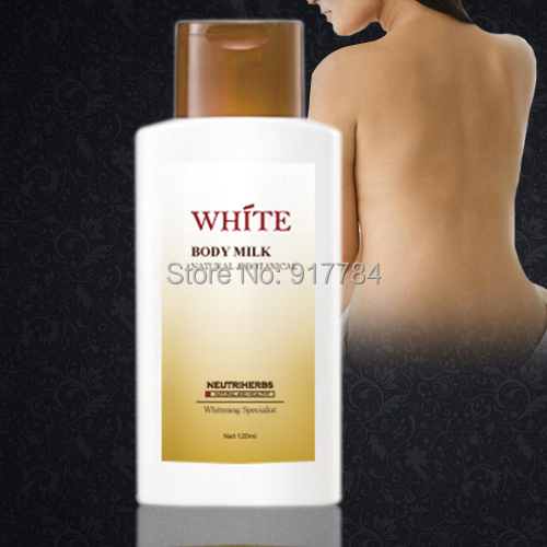 Wholesale Skin Whitening Body Lotion 120ml/pcs Free Shipping by Sinpapore Post Air Parcel(China (Mainland))