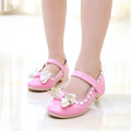 J Ghee European Classic Summer Girls Sweet Princess Shoes With Bow knot Children Party Show Sandals