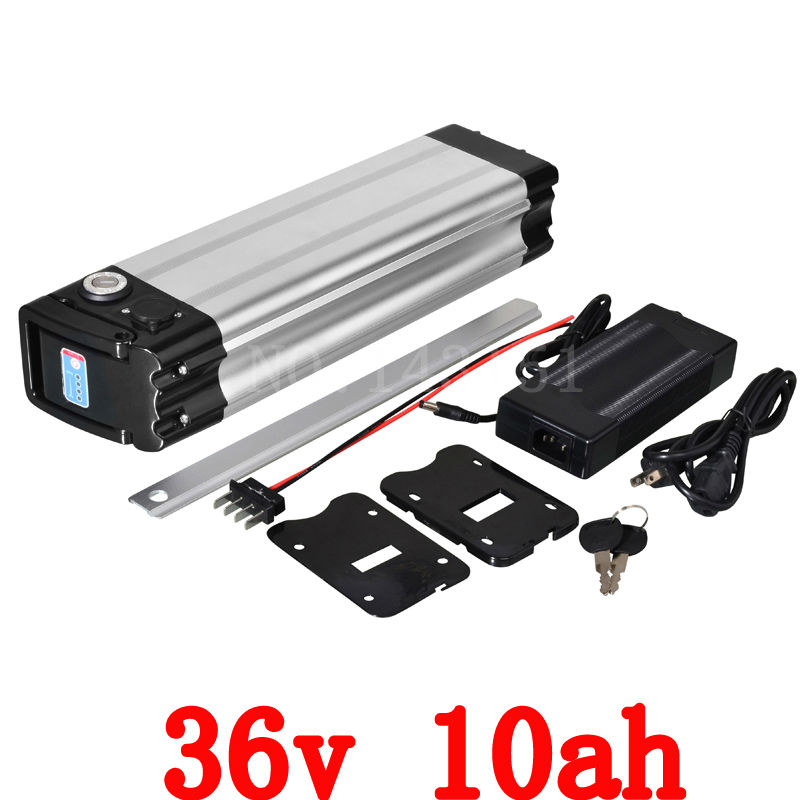 36v 10ah Battery 500w Ebike Battery 36v With 42v 2a Charger,15a Bms Lithium Scooter Battery 36v Electric Bicycle Free Shipping(China (Mainland))