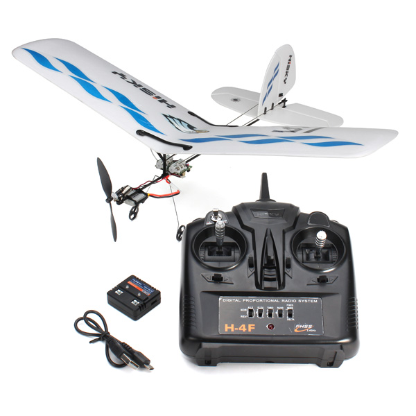 New Hisky Buzz HFW400 Micro Flyer 2.4G 3CH Parkflyers Indoor RC Airplane RTF(China (Mainland))