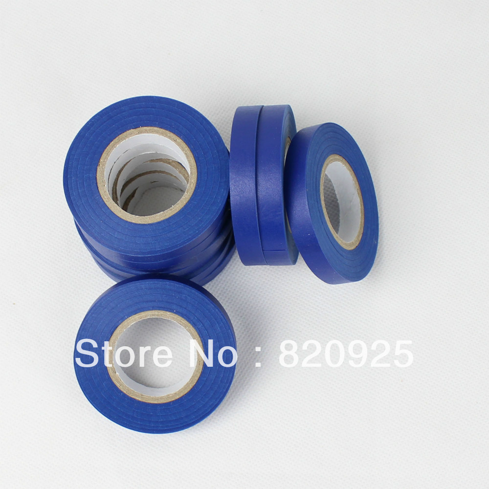 10 Rolls Blue Durable Fruit Vine Plant Tape for Hand Tying Machine Tapetool(China (Mainland))