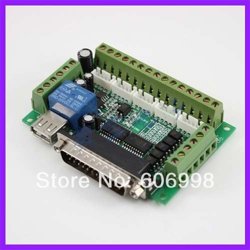 MACH3 Engraving Machine 5 Axis Stepper Motor Driver Interface Optocoupler Isolation - A-digital Co., Ltd. store