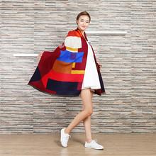 Winter Oversize Plaid New Designer Blanket Unisex Acrylic Wrap Cashmere Scarf Shawl Patchwork Pashmina Scarves 65*180cm WJ13(China (Mainland))