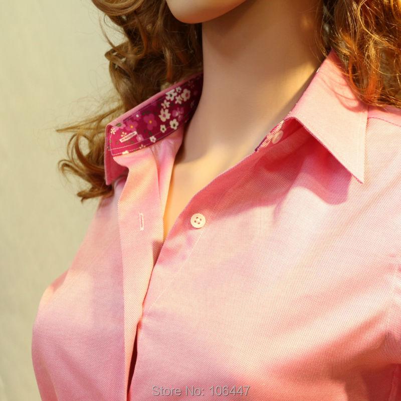 Pink Oxford Shirt Womens Oxford Pink Cotton Dress Shirt