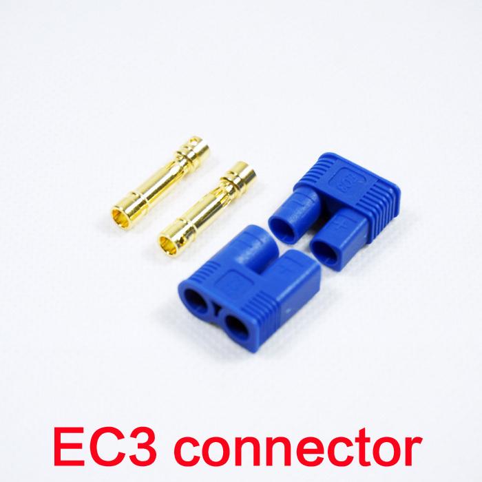 Rc Ec3 Connector Battery Bullet Plug Female Cable 3 5mm M3