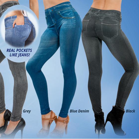 2015 Женщины's printed slim high elastic jeggings fake Джинса girls leggings ...