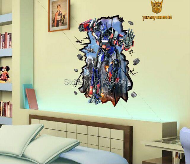 online billig bekommen transformator wandtattoos. Black Bedroom Furniture Sets. Home Design Ideas