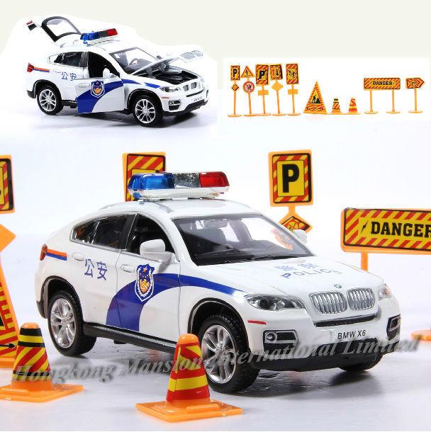 132 Police Car Model For BMW X6 (5)