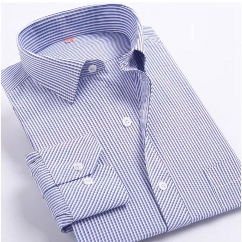 Мужская классическая рубашка 2016 5XL 6XL