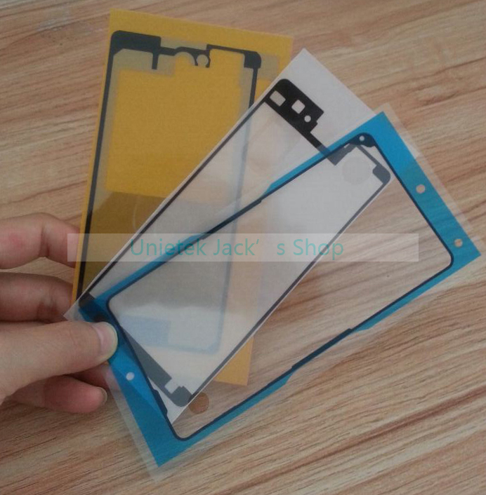 Sony Xperia Z1 Compact Frame Adhesive Sticker LCD Front frame mini Battery Back Cover - UNI-ETEK store