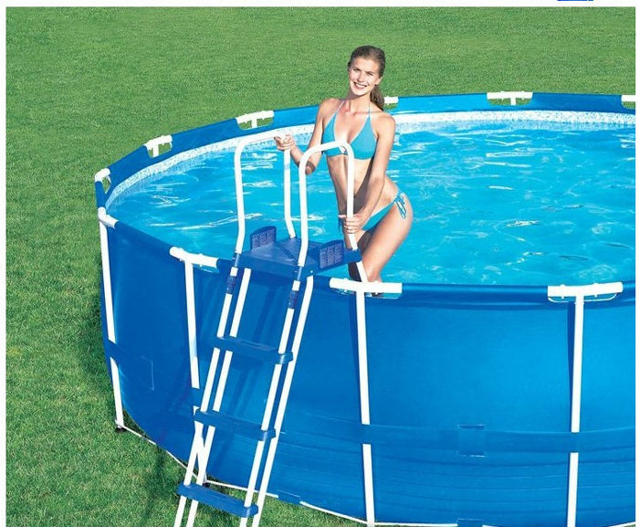 Adult swimming pool 457 122 cm bestway better than intex - Swimming pool accessories for adults ...
