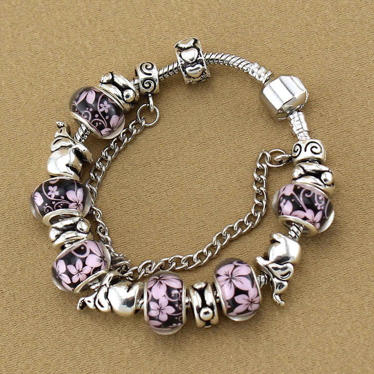 aliexpress com buy 2015 vintage silver acrylic beads