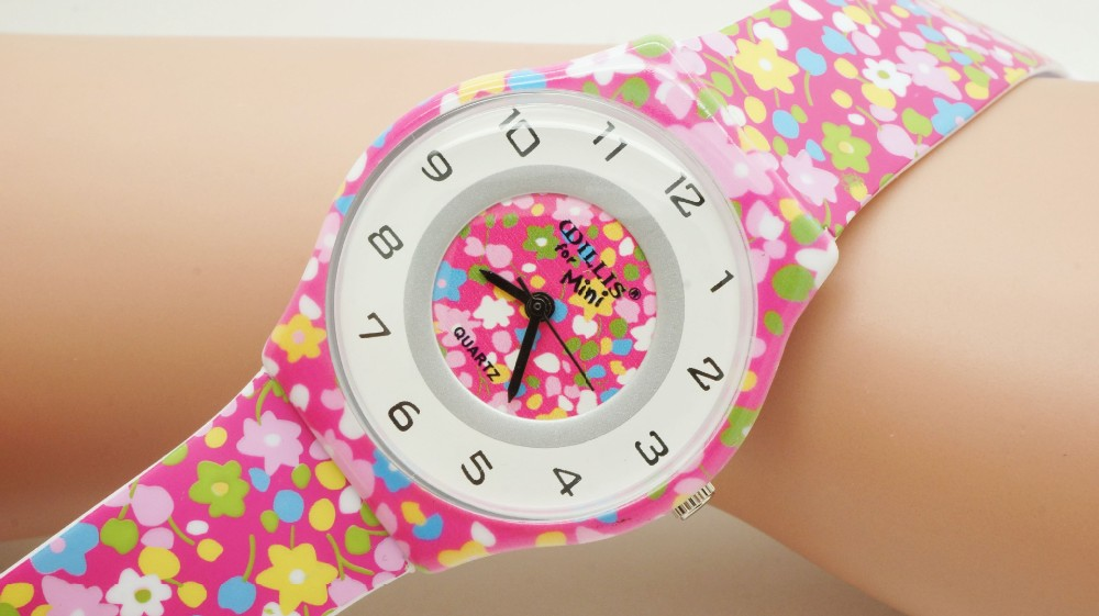 2016 новое прибытие дети часы япония движение кварцевые часы круглый обработки подарок часы модные часы для подарка