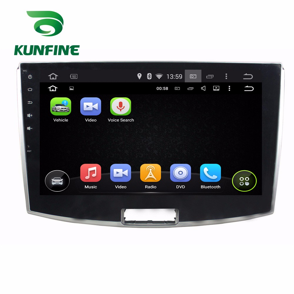 """10.1"""" Quad Core 1024*600 Android 5.1 Car DVD GPS Navigation Player Deckless Car Stereo for Magotan 2012-2015 Radio Bluetooth"""