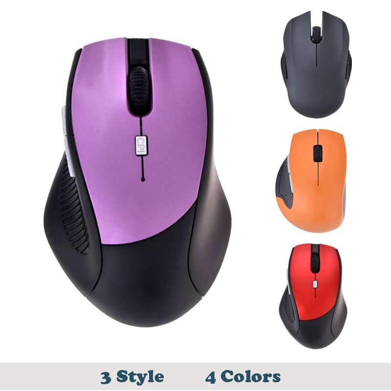 2.4 GHz Optical Wireless Mouse with USB Receiver Low Price For Computer PC Laptop Fast Shipping&Wholesale No retail Packing(China (Mainland))