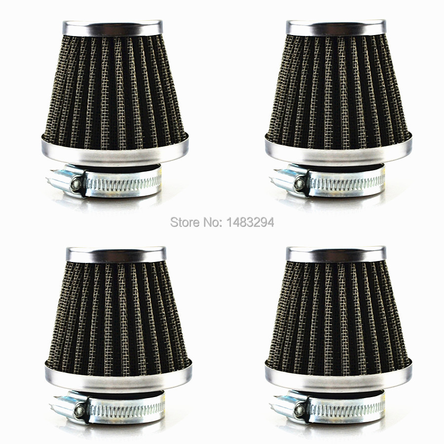 4pcs 39mm Universal Air Filter Cleaner Fits For Honda CB100 CB100N(China (Mainland))