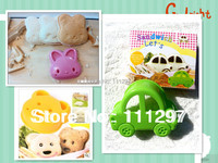 Wholesale 300pcs / lot plastic bear+rabbit +car  toast cutter sandwich cutter picnic lunch mold  Free shipping