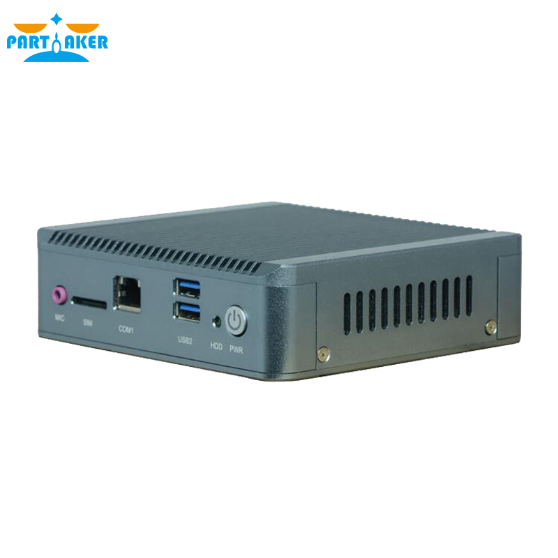 Dual Lan Portable Nano PC Case J1800 with 3G SIM Industrial Computer with 8G RAM 64G SSD Linux(China (Mainland))