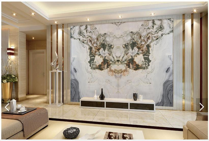 Customized 3d photo wallpaper 3d tv wallpaper murals jade for 3d stone wallpaper for living room