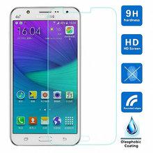 Tempered Glass Screen Protector Film CASE Samsung Galaxy J1 mini Ace Duos J2 J3 pro J5 J7 A3 A5 A7 A8 A9 2016 - Jinfan E-Commerce Co., Ltd. store