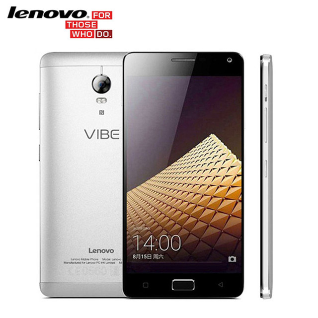 Оригинал Lenovo Vibe P1 Pro P1 C72 4 Г Сотовый Телефон Snapdragon 615 Octa Ядро 5.5 дюймов Android 6.0.1 1920x1080 3 ГБ RAM 13.0MP камера