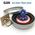 High quality Bearing Metal Fidget Spinner Super Heroes Captain America Aluminum Alloy EDC Hand Spinner gyro