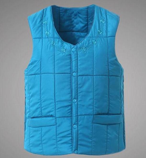 2XL-4XL Size Autumn winter plus size Women suit vest hood Wear inside jacket crochet cotton women - jiangnan style store