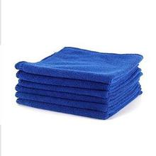 6 PCS Cleaning Wash Polish Clean Hand Cloth Microfiber Towel Super Soft Car 30X30cm(China (Mainland))