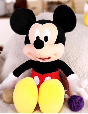 30cm Baby Toy Mickey Mouse And Minnie Stuffed Soft Animal Doll One Piece Girls 2017 Plush Toys Kids Birthday Gift MTY012(China (Mainland))