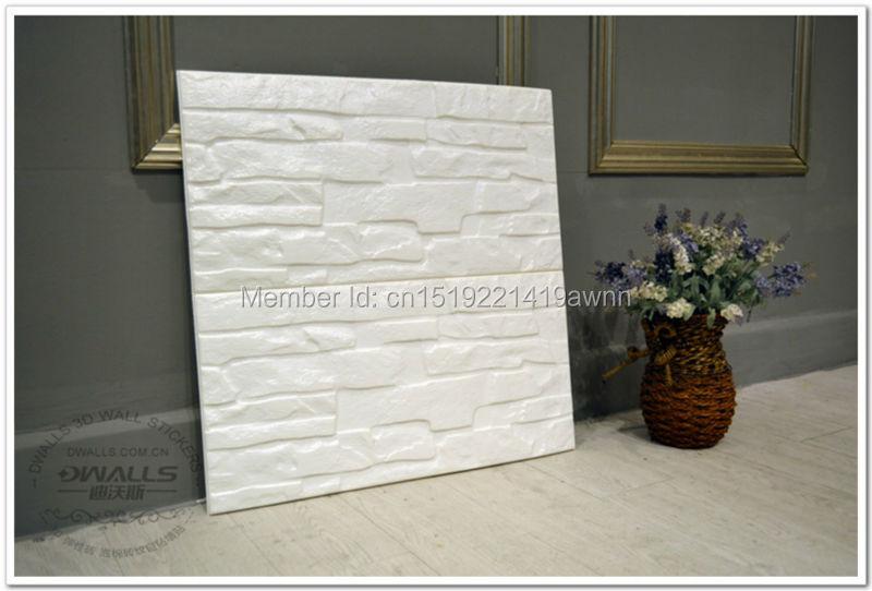 Achetez en gros d coratif 3d panneaux muraux en plastique en ligne des gros - Panneau brique decorative ...