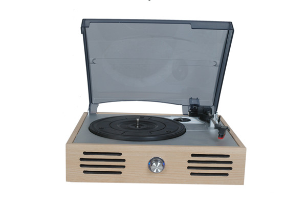 Wooden radio-gramophone antique phonograph big horn old fashioned lp vinyl player record player audio speaker(China (Mainland))