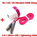 1M Fast Charger Adapter USB Cable For iphone 6 6s plus/iphone 5 5s/ipad air 2 Mobile Phone Charger Cables