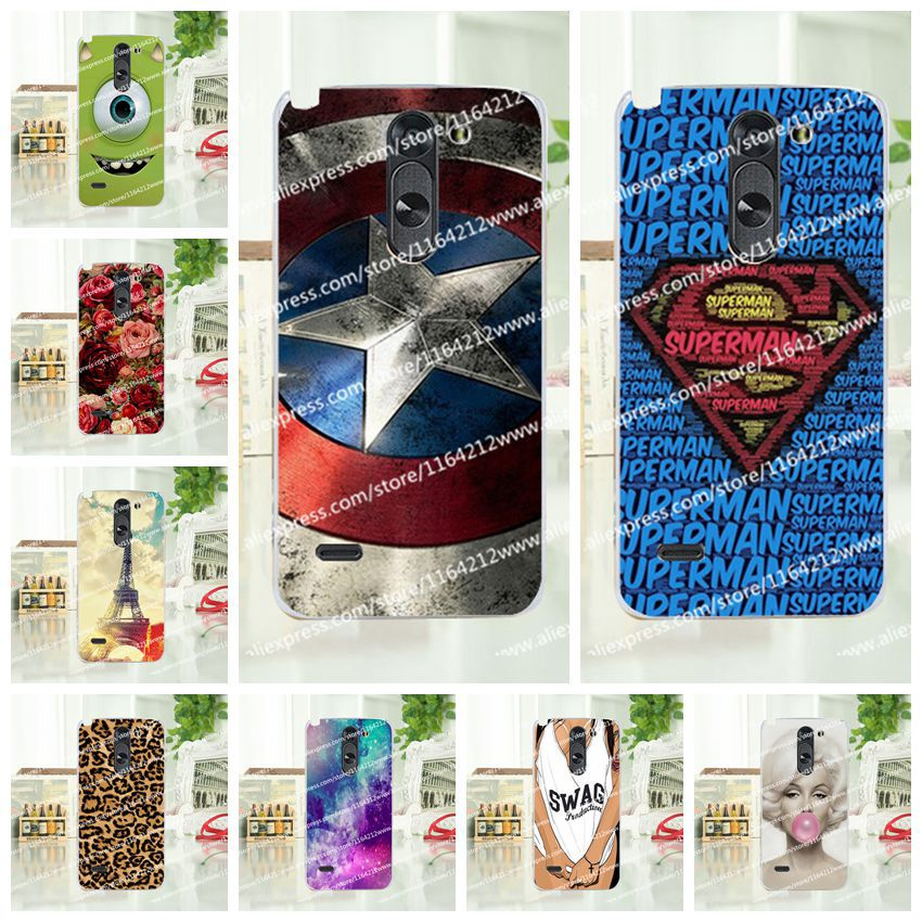 16 Styles Case LG G3 Stylus D690 D690N, Hard Plastic D690N Cover Free Gift - AMY Phone Store store