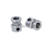 Free shipping 2Pcs/lot 3D Reprap Makerbot MK8 printer accessories concave extrusion wheel gear extrusion wheel feeding wheel