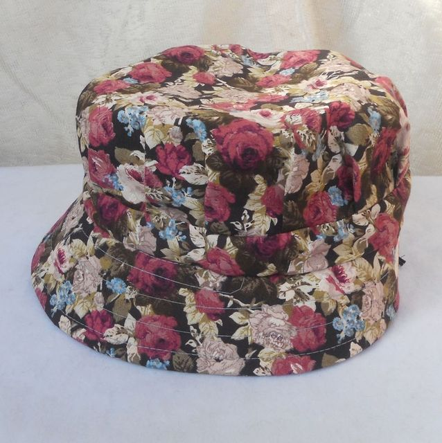 Spring and summer bucket hat bucket hats sunbonnet women's anti-uv hat quinquagenarian hat cap