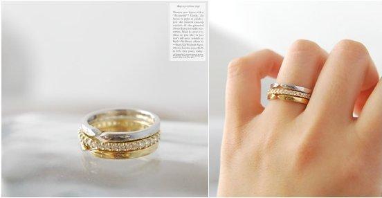 G180 3pcs/lot Wholesales New 2014 Hot Fashion Simulated Diamond Finger Ring Jewelry Accessories(China (Mainland))