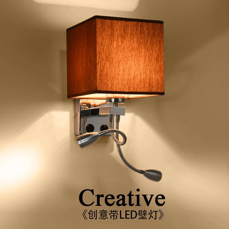 Modern Wall Lamps Corridor Wall Sconce Light Bed Living Room Bathroom Restaur