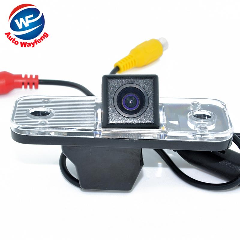 Free shipping HD waterproof backup reverse parking car rear view camera for Hyundai Santa Fe Azera(China (Mainland))