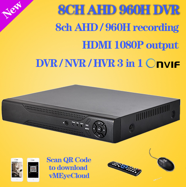 CCTV Видеорегистратор Greatech 8 AHD 960H D1 HDMI 1080P NVR Onvif hikvision ip P2P CCTV dvr 8ch WX-6008H 700tvl 8ch cctv system hdmi 1080p dvr nvr kit 8pcs dome indoor home surveillance security system 8ch 1tb hdd hard drive ck 128