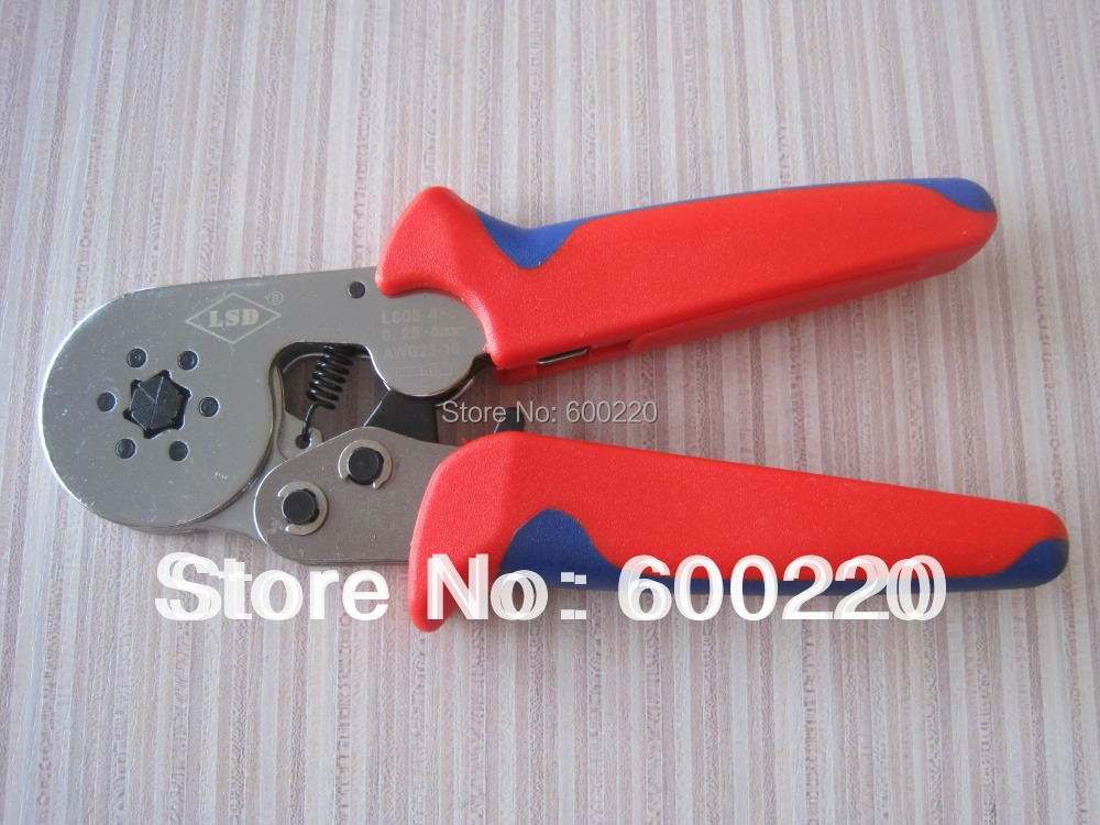 Crimping Tool Crimp Tools LSC8 6-6A self-adjusting crimping pliers for cable ferrules<br><br>Aliexpress