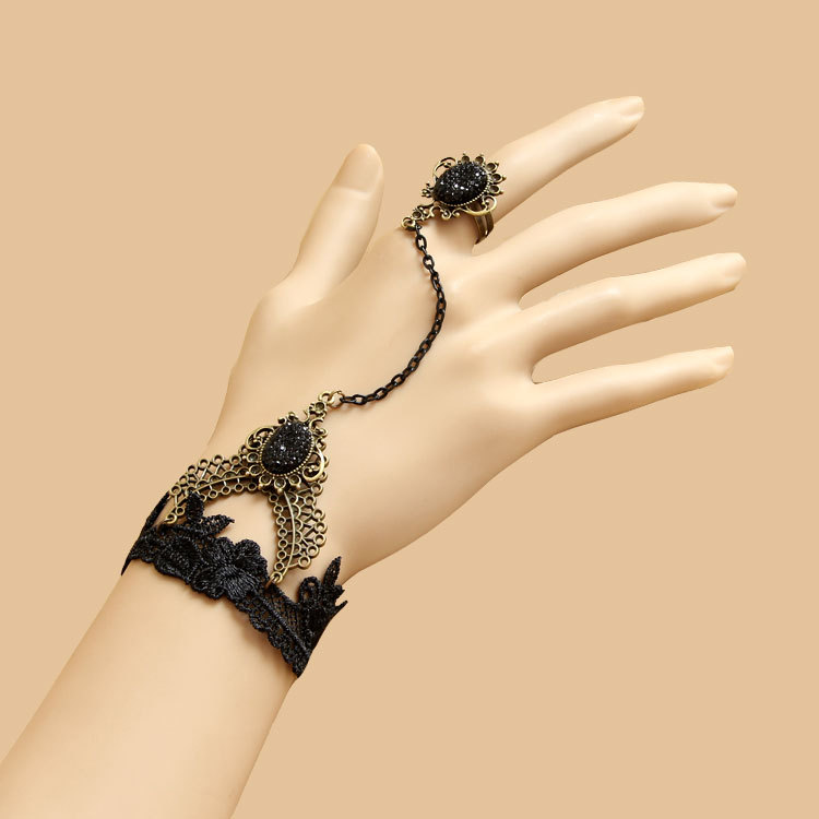 Crown the queen of roses Retro bracelet lace bracelets(China (Mainland))